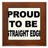 Funny Straight edge Framed Tile