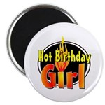Hot Birthday Girl Magnet