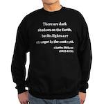 Charles Dickens 8 Sweatshirt (dark)