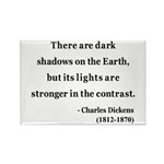 Charles Dickens 8 Rectangle Magnet (10 pack)