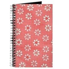 Strawberry Flowers Journal