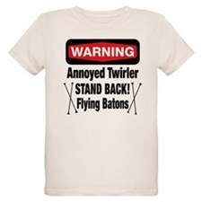 Warning Annoyed Twirler T-Shirt