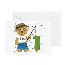 I'm 1 Fishing Buddy Greeting Card