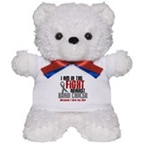 In The Fight SON Brain Cancer Teddy Bear