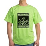Mr. America Green T-Shirt