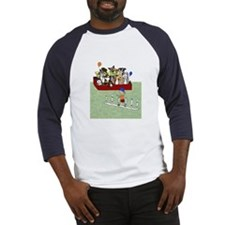 Funny Border collie agility Baseball Jersey