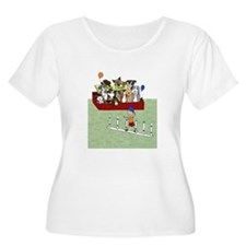 watching agilitywhite Plus Size T-Shirt