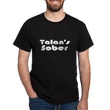 Talan's Sober Black T-Shirt