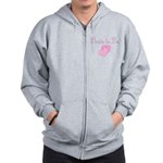 Pink Hearts Bride to Be Zip Hoodie