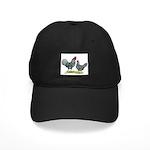 Dominique Chickens Black Cap