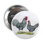 """Dominique Chickens 2.25"""" Button"""