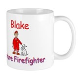 Blake - Future Firefighter Small Mugs