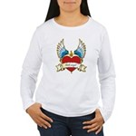 Little Angel Women's Long Sleeve T-Shirt