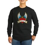 Little Angel Long Sleeve Dark T-Shirt