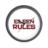 eileen rules Wall Clock
