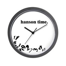 Unique Hanson Wall Clock