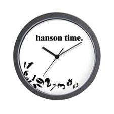 Cute Hanson Wall Clock