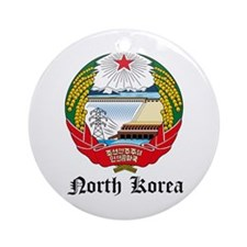Korean Coat of Arms Seal Ornament (Round)