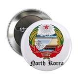 "Korean Coat of Arms Seal 2.25"" Button"