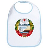 North Korea Coat of Arms Bib