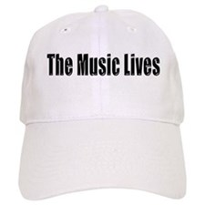 """The Music Lives"" Baseball Cap"