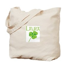 Laura shamrock Tote Bag