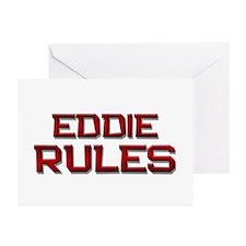eddie rules Greeting Cards (Pk of 20)