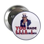 """Uncle Sam on Obama 2.25"""" Button (10 pack)"""