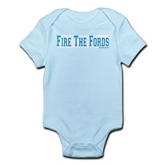 Fire The Fords Infant Creeper