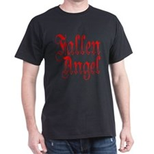 Fallen Angel Black T-Shirt