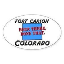 fort carson colorado - been there, done that Stick