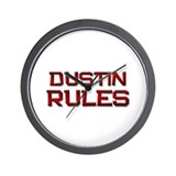 dustin rules Wall Clock