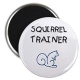 "Squirrel Trainer 2.25"" Magnet (10 pack)"