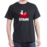 """I Love Birmans"" Black T-Shirt"