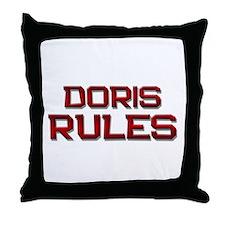 doris rules Throw Pillow