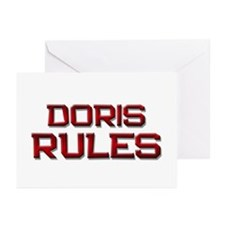 doris rules Greeting Cards (Pk of 10)