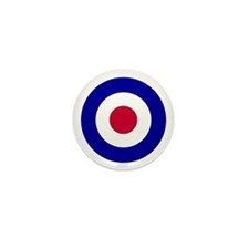 Unique Raf roundel Mini Button (10 pack)