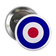 "Unique Raf roundel 2.25"" Button (100 pack)"