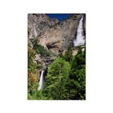 Yosemite Falls Rectangle Magnet