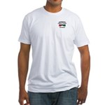 Kuwait Veteran 1 Fitted T-Shirt