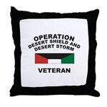 Kuwait Veteran 1 Throw Pillow