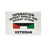 Kuwait Veteran 1 Rectangle Magnet (100 pack)