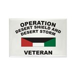 Kuwait Veteran 1 Rectangle Magnet (10 pack)