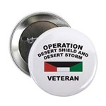 "Kuwait Veteran 1 2.25"" Button (100 pack)"