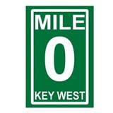 Mile Zero Key West Postcards (Package of 8)