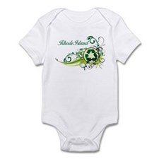 Rhode Island Recycle T-Shirts and Gifts Infant Bod