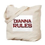 dianna rules Tote Bag