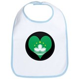 New SectionI love MACAU Flag Bib
