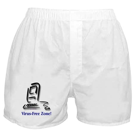 Virus-Free Zone! Boxer Shorts