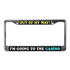 Casino Humor License Plate Frame